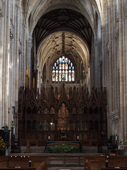 Winchester Cathedral - just a little bit splendid. Click the photo for a larger version.