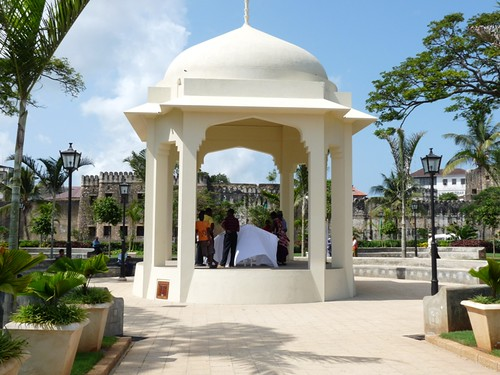 The renovated Forodhani Gardens in Zanzibar Stone Town