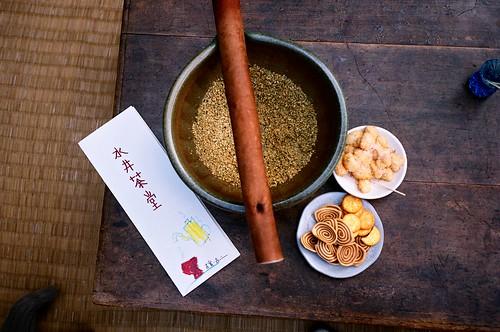 [北埔]水井茶堂-手工擂茶