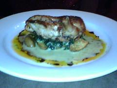 Chicken at Rocky Hill Inn
