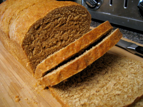 whole wheat molasses bread