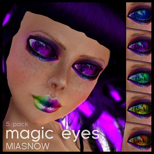 MAGIC Eyes Display Poster