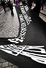 Existrans 2009 — Act Up-Paris : Sida, Trans OubliéEs, Trans AssassinéEs