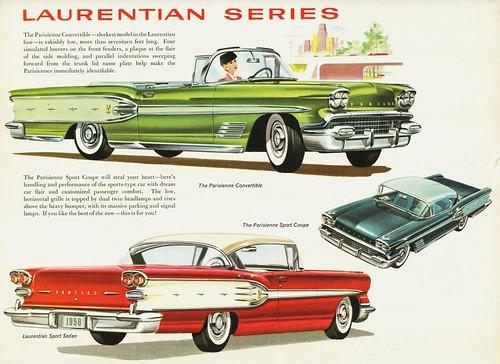 1958 Pontiac Laurentian Series (Canada)
