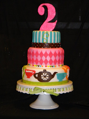 Happy As A Lark Cakes 2nd Birthday