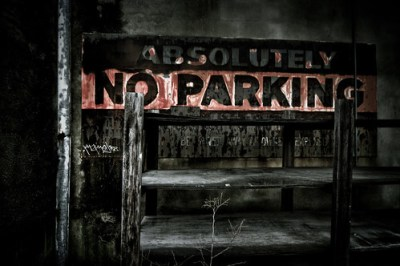 absolutely no parking