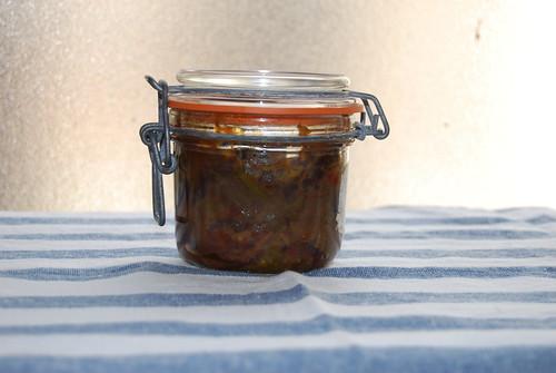 Chutney de jalapeños y guindillas