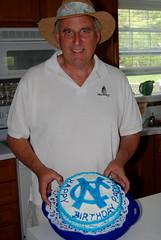 Papa loved his cake!