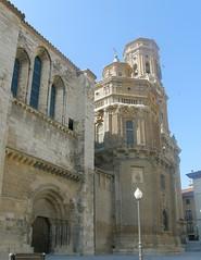 Puerta de Santa María. Catedral de Tudela, Navarra.