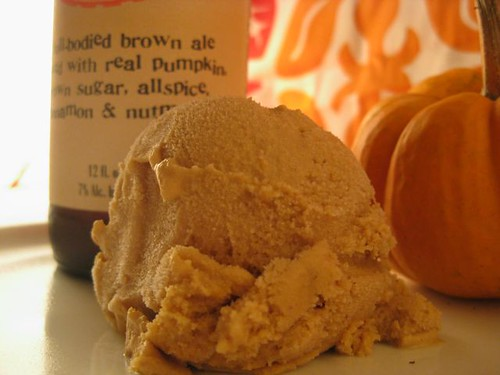 Pumpkin Beer Ice Cream 2