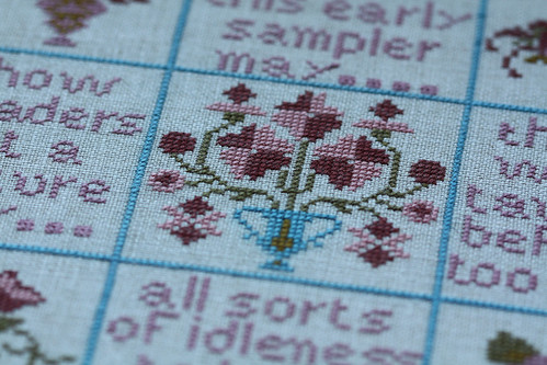 Early Sampler Detail