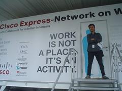 Japestinho at Cisco Express NoW