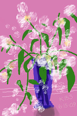 White Lilacs - June 15, 2009
