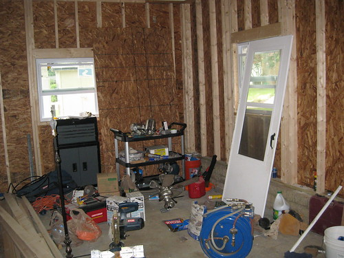 You can only immagine how packed it is now that we also brought down everything in our attic to instal a new HVAC system.
