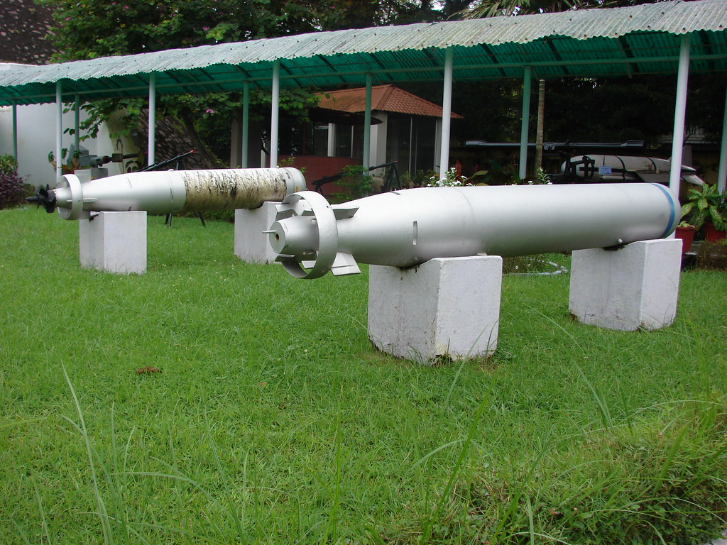 Torpedos used on board INS Dronacharya