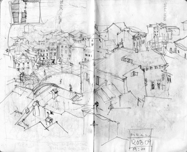 piran, tartinijev trg, slovenia