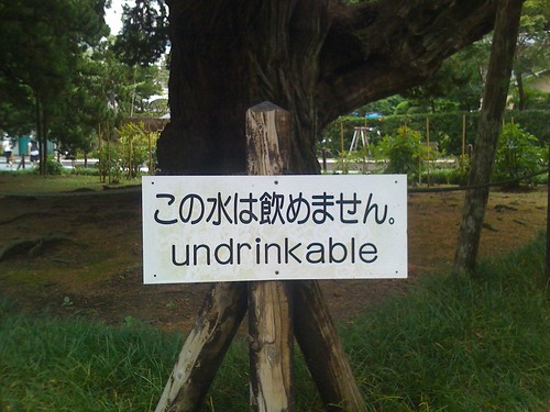 Undrinkable