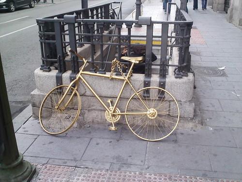 La bicicleta de oro