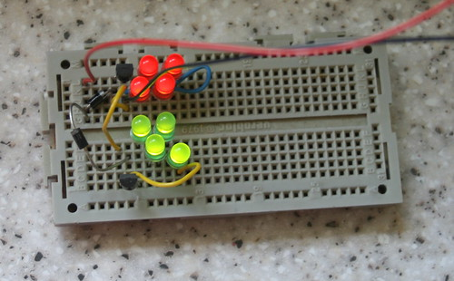 Test decklight replacement circuit