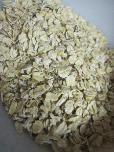 Rolled Oats and Ground Flax