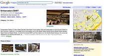 sample Google Maps for business page