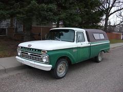 1966 Mercury M-100 Truck