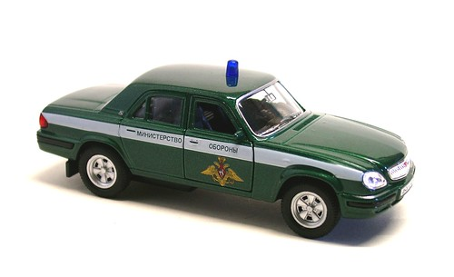 Welly Volga 2201 Polizia