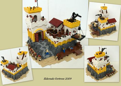 LEGO Eldorado Fortress Redux by Kris Kelvin