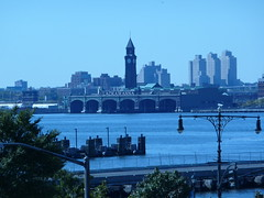 View across the Hudson to New Jersey
