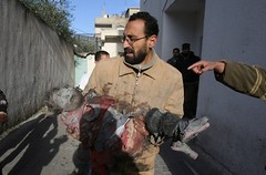 'Some terrorists were hunted down by smart bombs' by freegazaorg