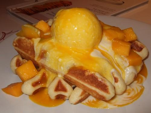 Mango Waffle