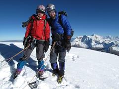 Au sommet du Tocclaraju, 6032m !