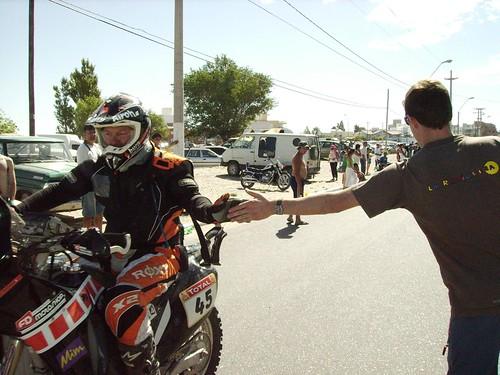 Dakar Rally in Puerto Madryn