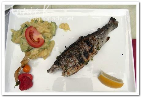 基姆湖烤魚