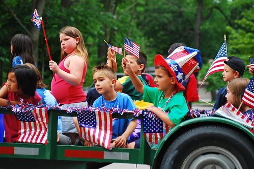 patriotic kiddos