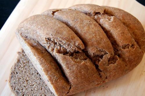 Whole Wheat Rye Loaf