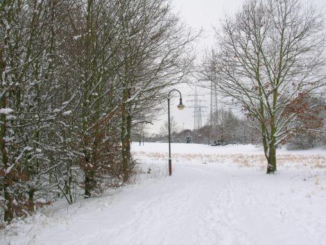 Snowy Düsseldorf