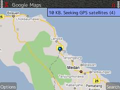 Nokia E71 Google Maps