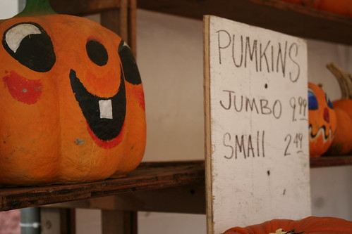 """""""Pumkins"""" - someone didn't make it to the spelling bee"""