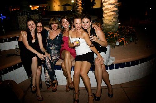 Jodie's party at La Costa