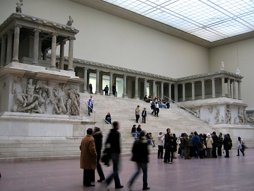 Pergamon Altar at the Pergamonmuseum.
