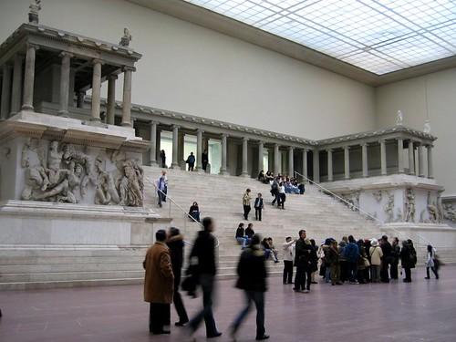 Pergamon Altar at the Pergamonmuseum.