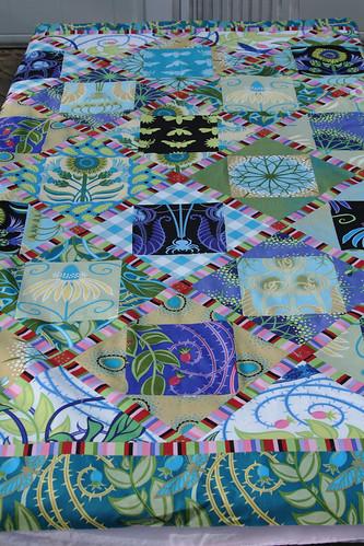 Prairie Gothic Quilt Top 1
