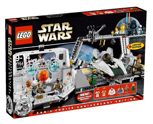 LEGO Star Wars 7754 Home One Mon Calamari Star Cruiser box art