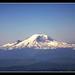 Mt. Rainier from the plane