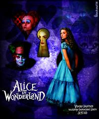 49. Alice in Wonderland - You're Invited