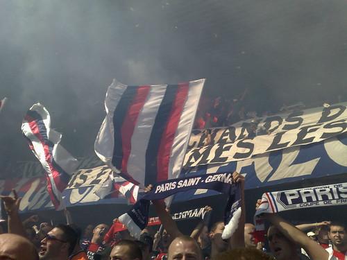 Virage Auteuil lors de PSG 3-0 Lille by psgmag.net, on Flickr