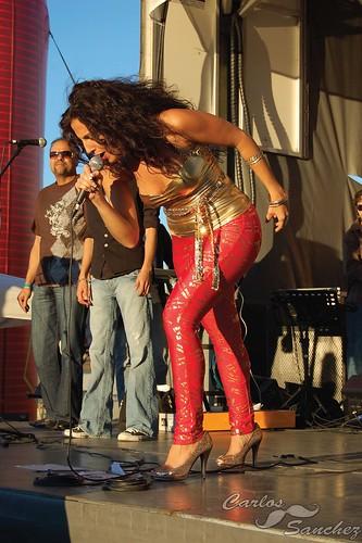 Puerto Rican Fiestas Patronales 2008 in Pembroke Pines, Broward County.