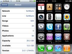 iPhone OS3.0.1