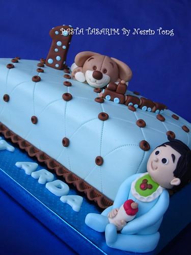 1ST BIRTHDAY CAKE - MEHMET ARDA